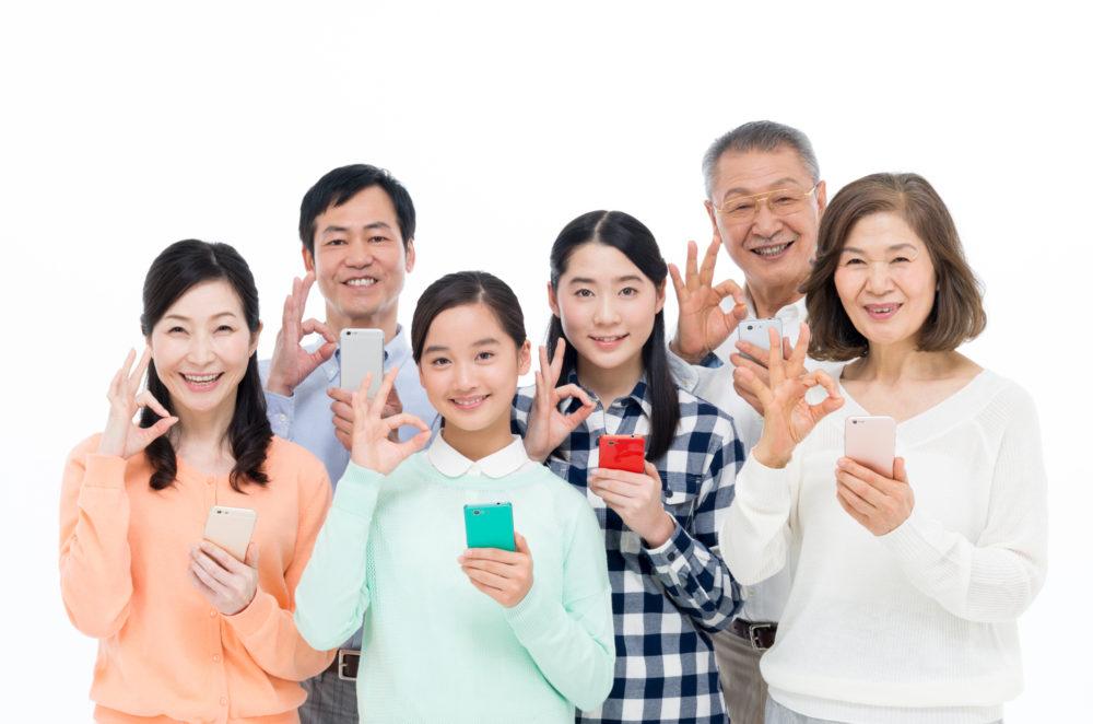 【ドコモのセット割引はスマホがお得】毎月家族全員1,000円割引?ガラケーも?
