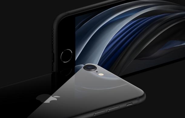 iPhoneSEの端末画像