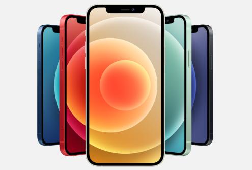 iPhone12カラー画像